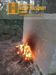50 mins burning